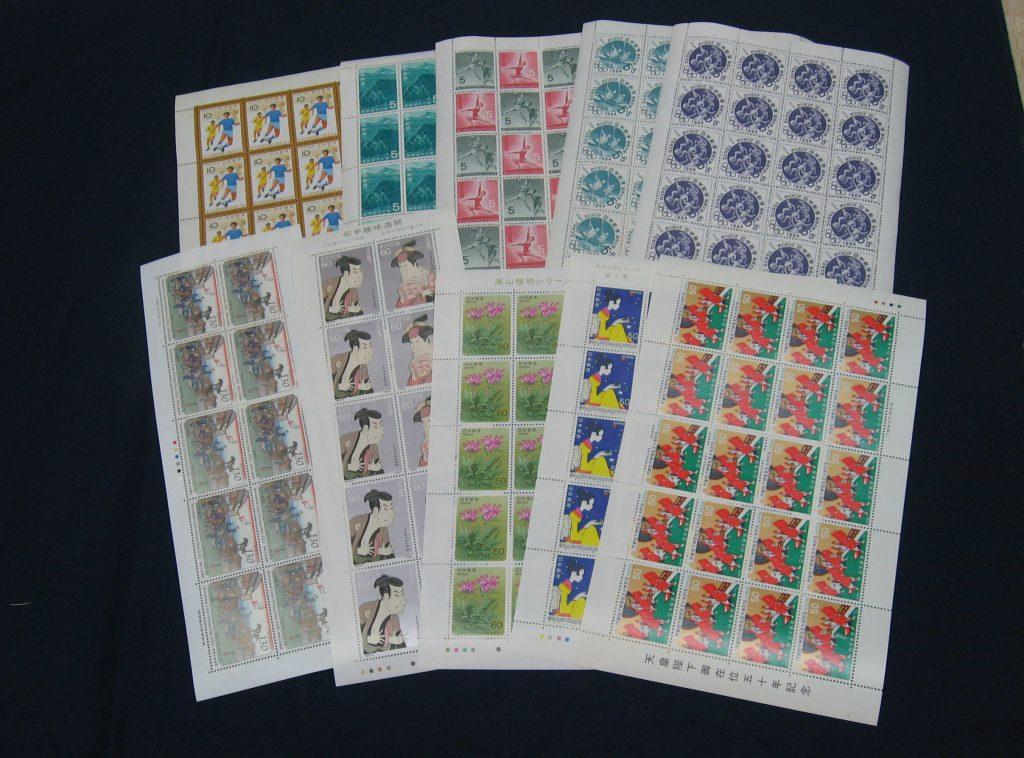 切手シートをお譲り頂きました。