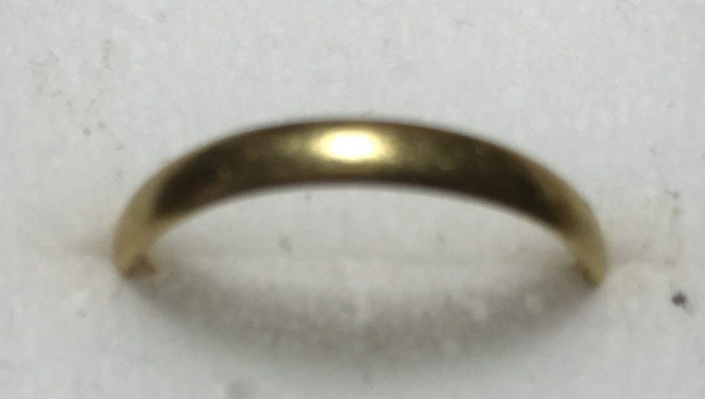 金K18指輪をお譲り頂きました。