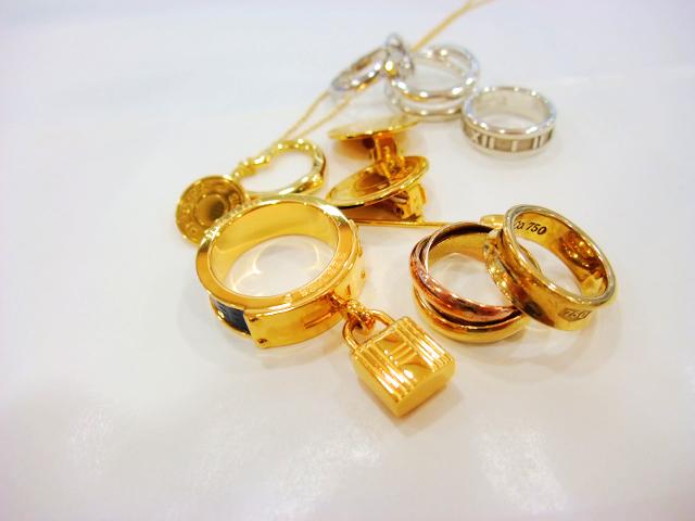 金 貴金属 指輪