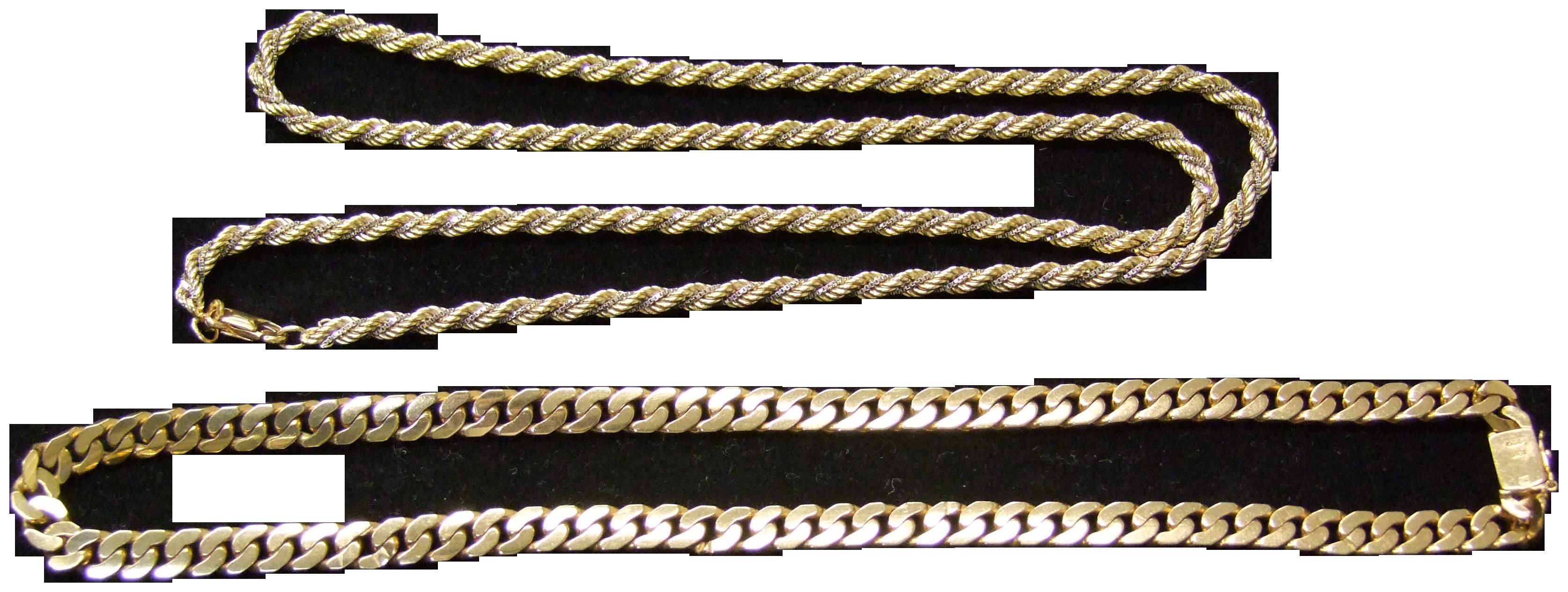 金 貴金属 ネックレス 喜平
