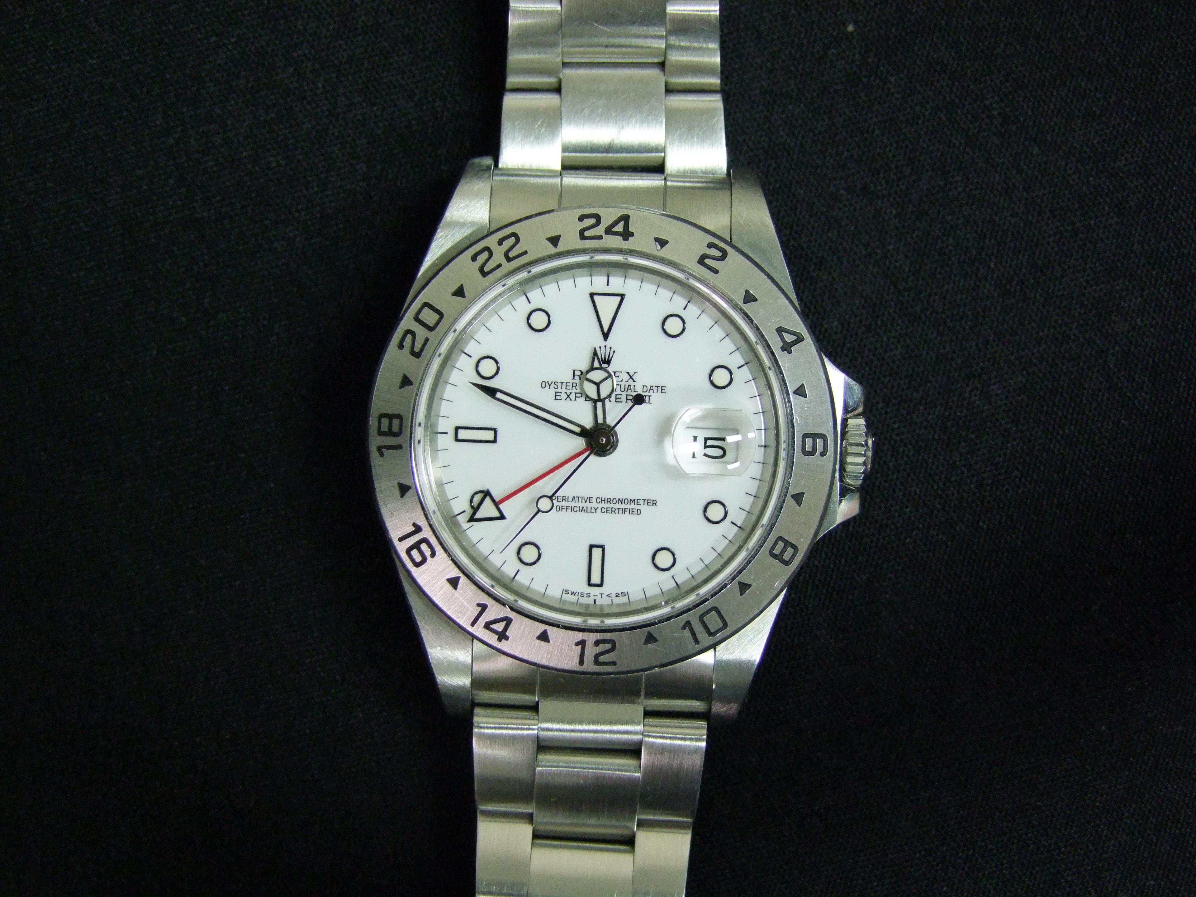 ロレックス Rolex エクスプローラーⅡ 腕時計 ブランド ブランド品