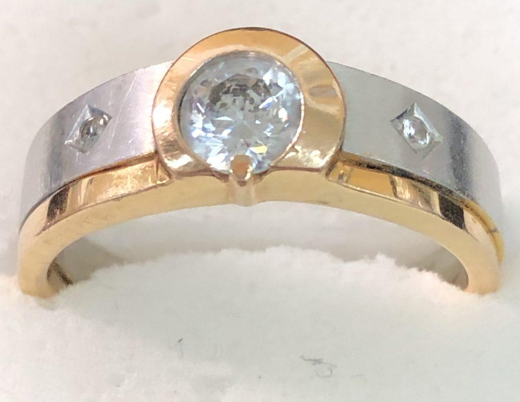 金(18K刻印)の指輪を買取致しました