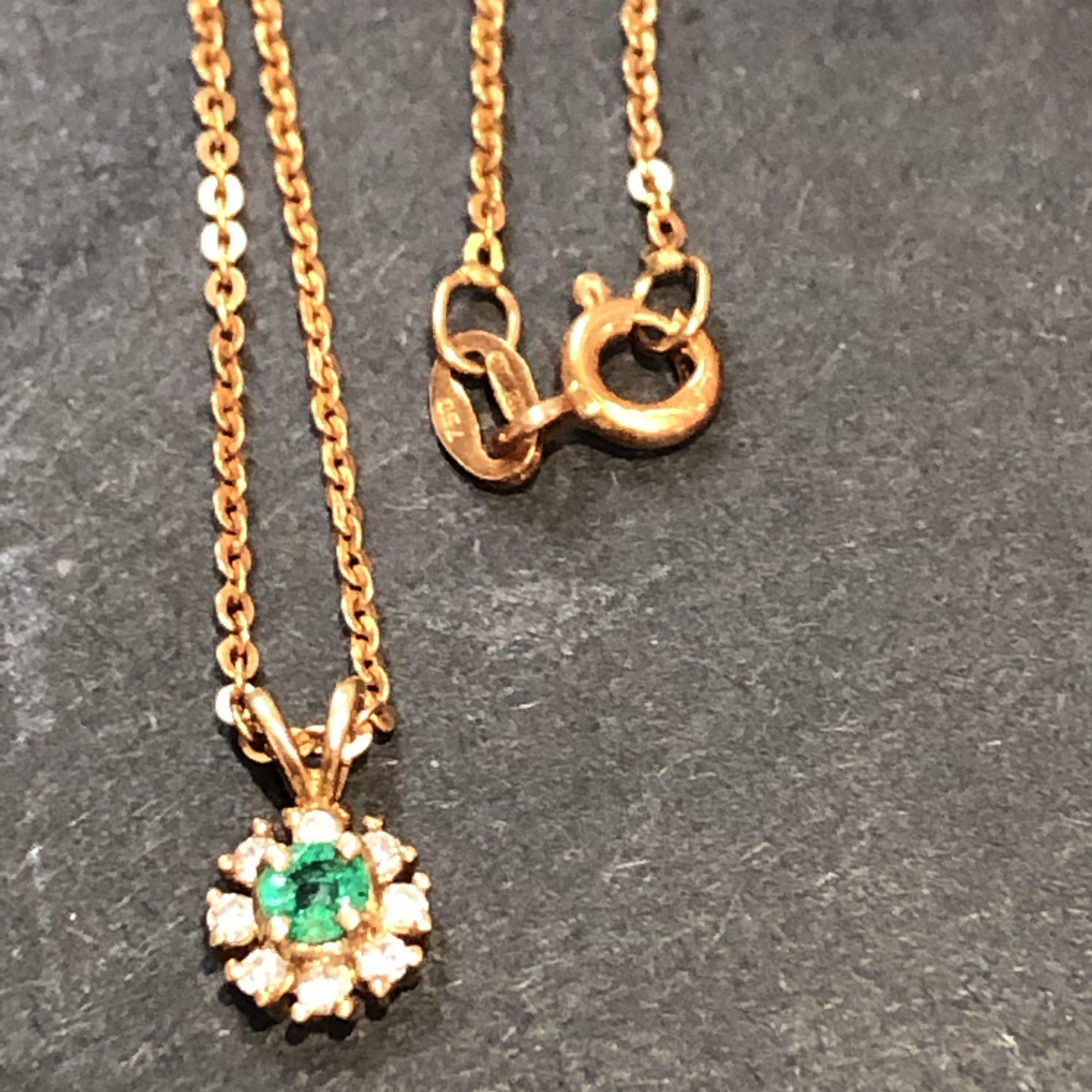 金 貴金属 ネックレス エメラルド ダイヤ 買取 高額買取