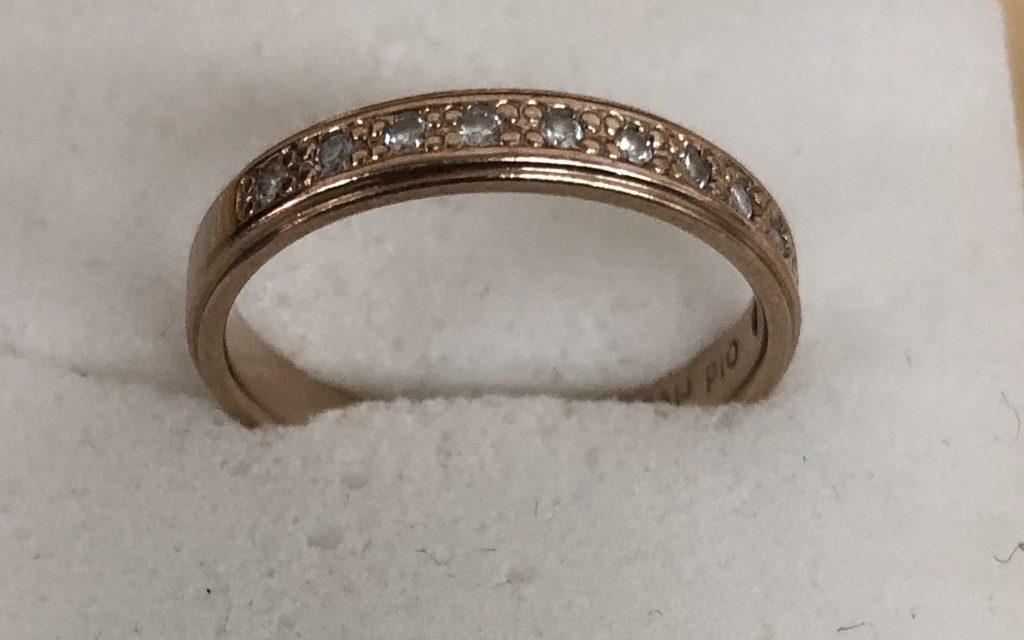 鹿児島市 金の指輪を買取致しました