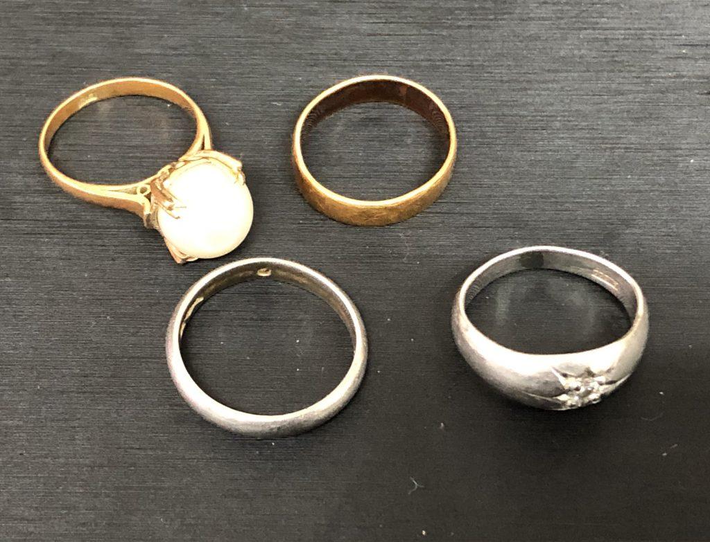 鹿児島市宇宿エリアご在住のお客様より指輪を買取させて頂きました