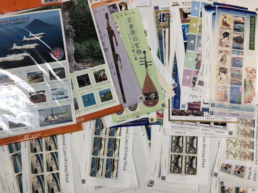 記念切手を買取させて頂きました