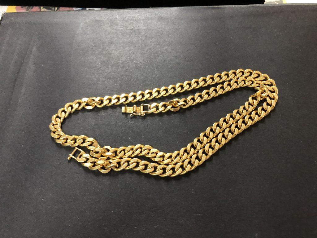 南さつま市:18金 喜平 ネックレスを買取させて頂きました