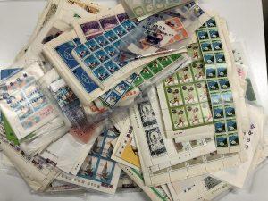 切手 記念切手 切手シート 切手バラ 高価買取 鹿児島
