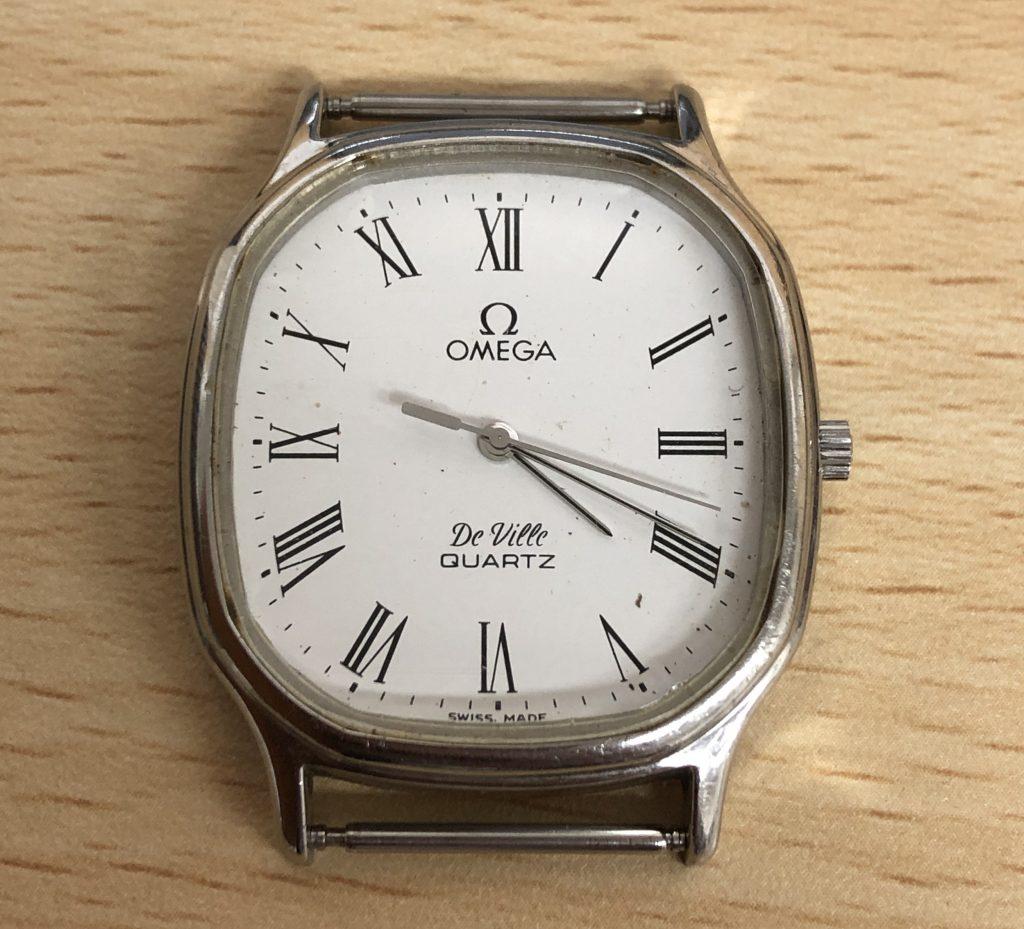鹿児島市:ブランド時計 オメガ DeVile ジャンク品をお買取りさせて頂きました