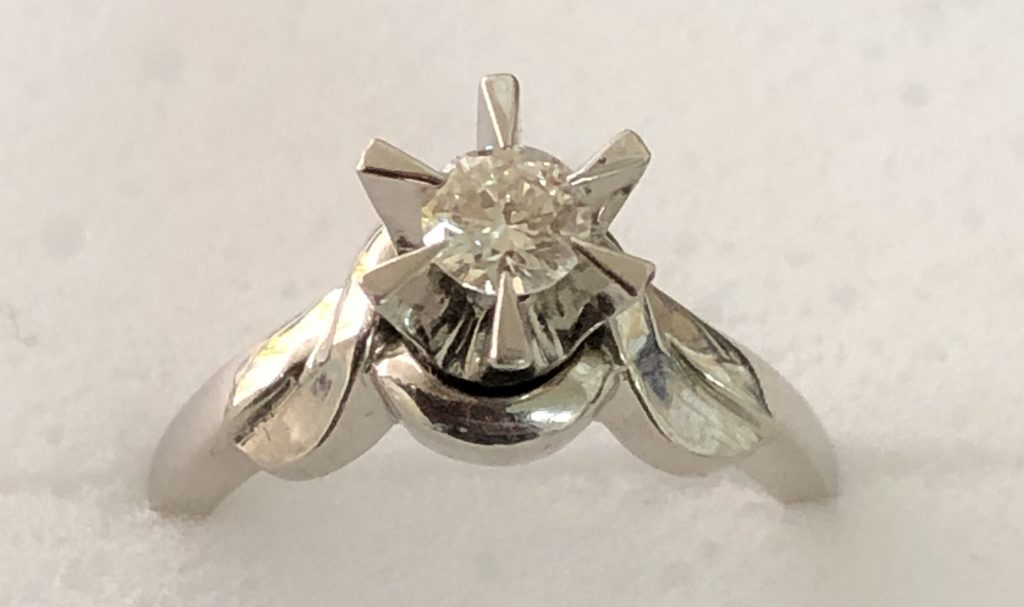 鹿児島市:ダイヤモンド付き指輪をお買取りさせて頂きました